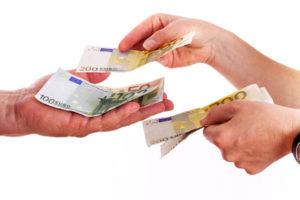 Geld leihen von einer Privatperson