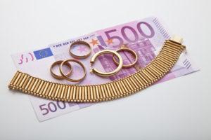 Schnell Bargeld dank Geld für Gold