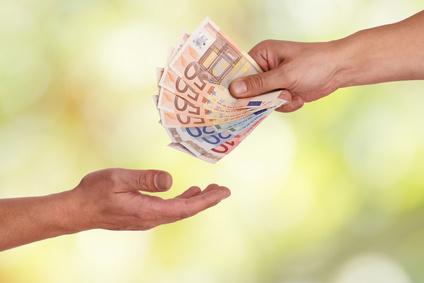 Geld jetzt sofort verfügbar